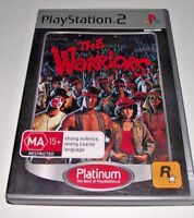 The Warriors PS2 (Platinum) PAL *Complete*