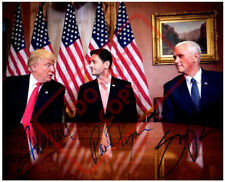 8.5x11 Autographed Signed Reprint RP Photo Donald Trump Mike Pence Paul Ryan