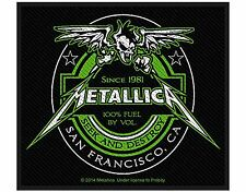 METALLICA (LICENSED) WOVEN SEW PATCH