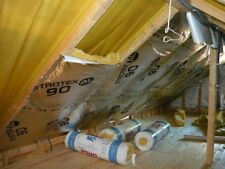 ROOF Vapour Barrier Thermal Insulation Aluminium Foil Membrane 75SQ/M SAVE MONEY