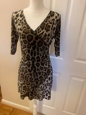 Ed Hardy Leopard Cheetah Crystal Rose Tattoo Le Vif Production Hollywood Dress