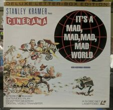 It's A Mad, Mad, Mad, Mad World Deluxe Letterbox Edition 3-Disc Laserdisc Set