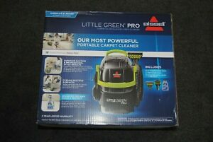BISSELL Little Green Pro Portable Carpet Cleaner, 2505 NEW