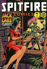 Spitfire Comics #2, Spitfire Sanders, Jungleman, Flyin Flagg, New edition 2015