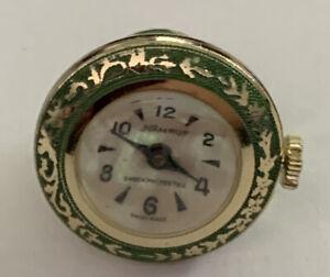 Swiss Made Namruf 17 Jewels, Necklace Pendant Wind Up Watch, Runs Great.