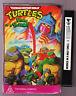 Vintage Teenage Mutant Ninja Turtles cartoon video Clamshell VHS 1988 tmnt