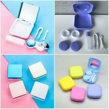Mini Contact Lens Travel Kit Case Pocket Size Storage Holder Container Colorful