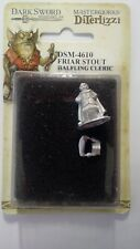 DSM-4610 Friar Shout, Halfling Cleric  By Dark Sword Miniatures