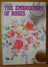 ONDORI Paperback Book - THE EMBROIDERY OF ROSES - charts patterns instructions