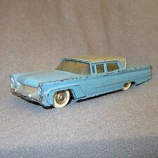 61E Raro Dinky Francia 532 Lincoln Primera Azul Apoyado 1:43