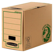 20 Fellowes Archivboxen Bankers Box Earth Series A4+ Archivkarton 20,0 x 35,0 x