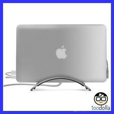 TWELVE SOUTH BookArc - premium Aluminium Desktop Stand for Apple MacBook Air