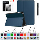Multi-Angle View Folio Case Cover For iPad 2017 9.7'', iPad Air 2/1 + Protector