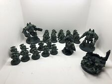 Warhammer 40k Salamander Army Job Lot pyroclast and vulcan heresy 30k
