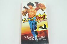 Kung Pow: Enter The Fist (VHS) Cult Classic Comedy Kung-Fu Spoof Steve Odenkerk