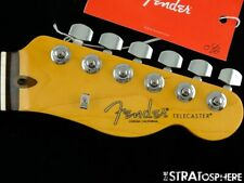 2021 Fender American Professional II Telecaster Tele NECK +TUNERS USA Rosewood!