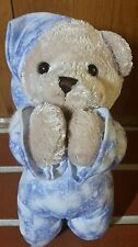 "Kid Connection Prayer Bear 13"" in Pajamas Bedtime Friend Plush"