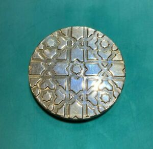 Fine Tiffany & Co Sterling Silver Purse Mirror Pablo Picasso Spain 925 2 inches
