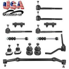 14X Front Ball Joint Tie Rod Sway Bar Links Kit for Chevrolet Pontiac Oldsmobile