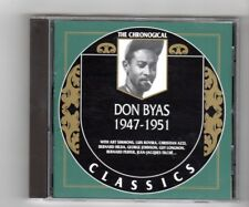 (IN499) The Chronological Classics: Don Byas 1947-1951 - 2002 CD