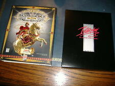 CONQUEST OF THE NEW WORLD Descent II 1996 RARE BIG BOX DELUXE VERSION