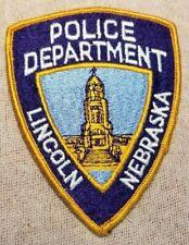 NE Lincoln Nebraska Police Patch