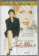 SEX & MRS. X - NEW & SEALED DVD - FREE LOCAL POST