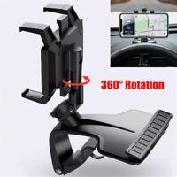 360° Rotation Car Interior Dashboard Mobile Phone Holder GPS Navigation Bracket