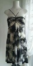 Summer Sun-Beach dress - Palm print - Mango  size 12