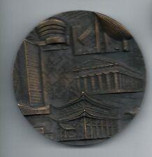 Architecture Corbusier Lloyd Wright Gaudi Gropius Niemeyer Bronze Medal / M45