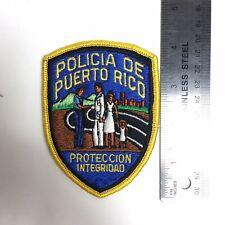 POLICIA DE PUERTO RICO SPANISH POLICE PATCH PROTECCIÓN INTEGRAD