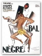 Le Bal Negre Paul Colin African American Art Print 38x27