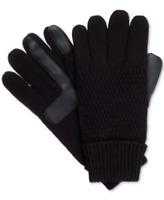 Isotoner Signature Women's smartDRI Solid Textured Gloves in Black, $40 Retail