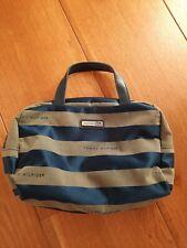 Tommy Hilfiger Damentasche, Handtasche, Gebraucht, blau oliv