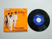 0820- JACKSON 5 MAYBE TOMORROW ESPAÑA1971 VIN 7 SINGLE POR VG DIS VG+