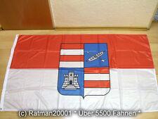 Fahnen Flagge Kroatien Gespanschaft Dubrovnik Digitaldruck - 90 x 150 cm