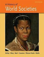A History of World Societies Combined Volume Tenth Edition Paperback