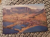 Cape Town From the Air - Vintage Postcard