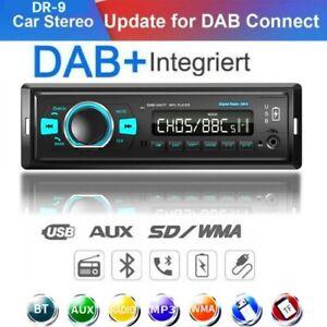 DAB+ Bluetooth Car Stereo Radio Audio MP3 Player 1 DIN Dual USB FM AM AUX RDS SD