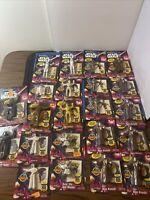 Lot of 22 VTG Star Wars JusToys Bendems Vader Luke R2D2 C3PO Leia Kenobi Yoda