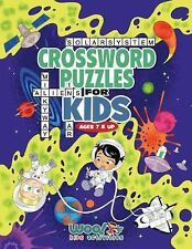 Crossword Puzzles for Kids Ages 7 and Up : Reproducible Worksheets for...