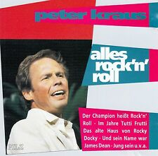 PETER KRAUS - ALLES ROCK 'N' ROLL / CD (PILZ 44 1845-2)