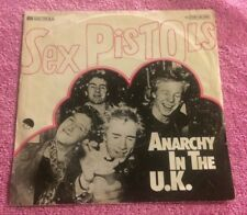 SEX PISTOLS ANARCHY IN THE UK GERMAN ORIGINAL 1976 EMI CLASH P.I.L DAMNED 999