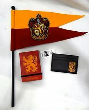 Wizarding World Of Harry Potter GRYFFINDOR Flag Pennant, pad, card holder