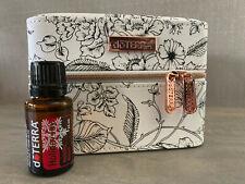 Brand New Genuine doTERRA 15ml Holiday Joy Oil Blend with Rose Train Case Set