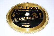 """Ti-Tech Titanium Tungsten Carbide Tipped Saw Blade 230mm (9"""") for Aluminium"""