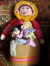 New Hand Knitted Pedlar Lady
