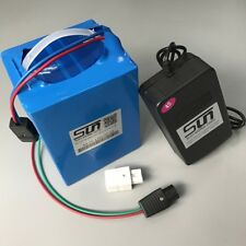 LiFePO4 12V 60AH Battery 10A Charger BMS Rechargeable Solar Energy Power BY UPS
