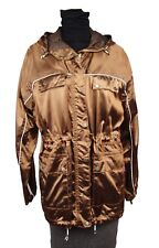 Limited Edition Belstaff Women's Bronze Belway Riding Jacket Parka Size L