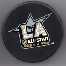 2017 All Star Game LA Los Angeles Staples Official NHL Hockey Puck + FREE Cube
